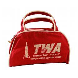 TWARocket to the Moon child's flight bag.