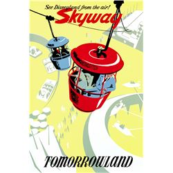 Original Skyway attraction poster.
