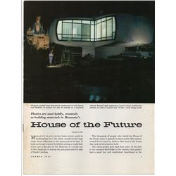 Monsanto Magazine House of the Future.