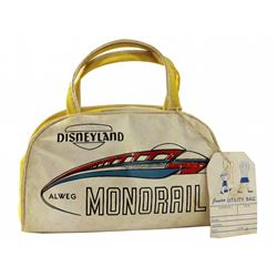 Alweg Monorail child's flight bag.