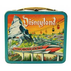 Monorail/Submarine Voyage  metal lunch box and thermos.