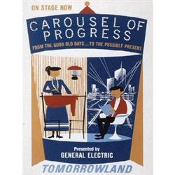 Original Carousel of Progress attraction poster.