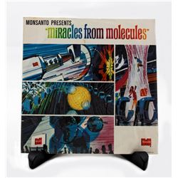 "Adventures Through inner Space  ""Miracles from Molecules"" promo record with sleeve."
