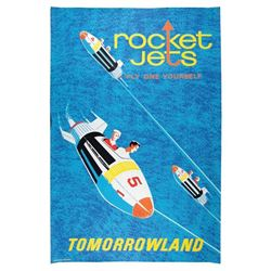 Original Rocket Jets attraction poster.