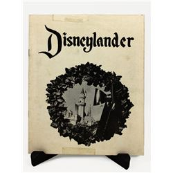 EARLY DISNEYLANDER MAGAZINE DECEMBER 1956.