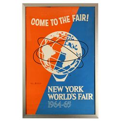 Come To The Fair! promotional poster.