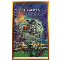 New York World's Fair promotional poster.