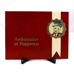 Ambassador of Happiness cast member procedures booklet.