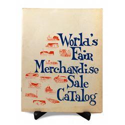 New York World's Fair sale catalog.