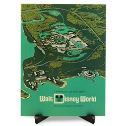 About Walt Disney World preview center booklet.