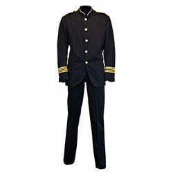 Original Bay Lake Vessel Officer cast member Costume Jacket.