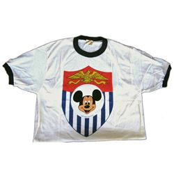 Early Walt Disney World cast member Pre-Opening Mickey Mouse T-Shirt in Unopened Bag.