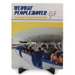 WEDWAY Peoplemover CTS promotional sales booklet.