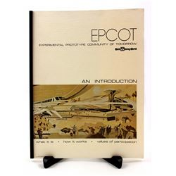 WED introduction booklet to EPCOT.