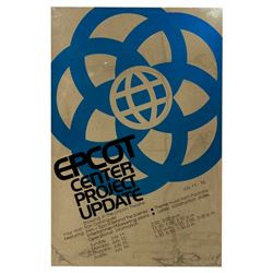 EMPLOYEE EPCOT CENTER PROJECT UPDATE POSTER.