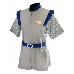 EPCOT Center original Spaceship Earth Hostess Tunic.