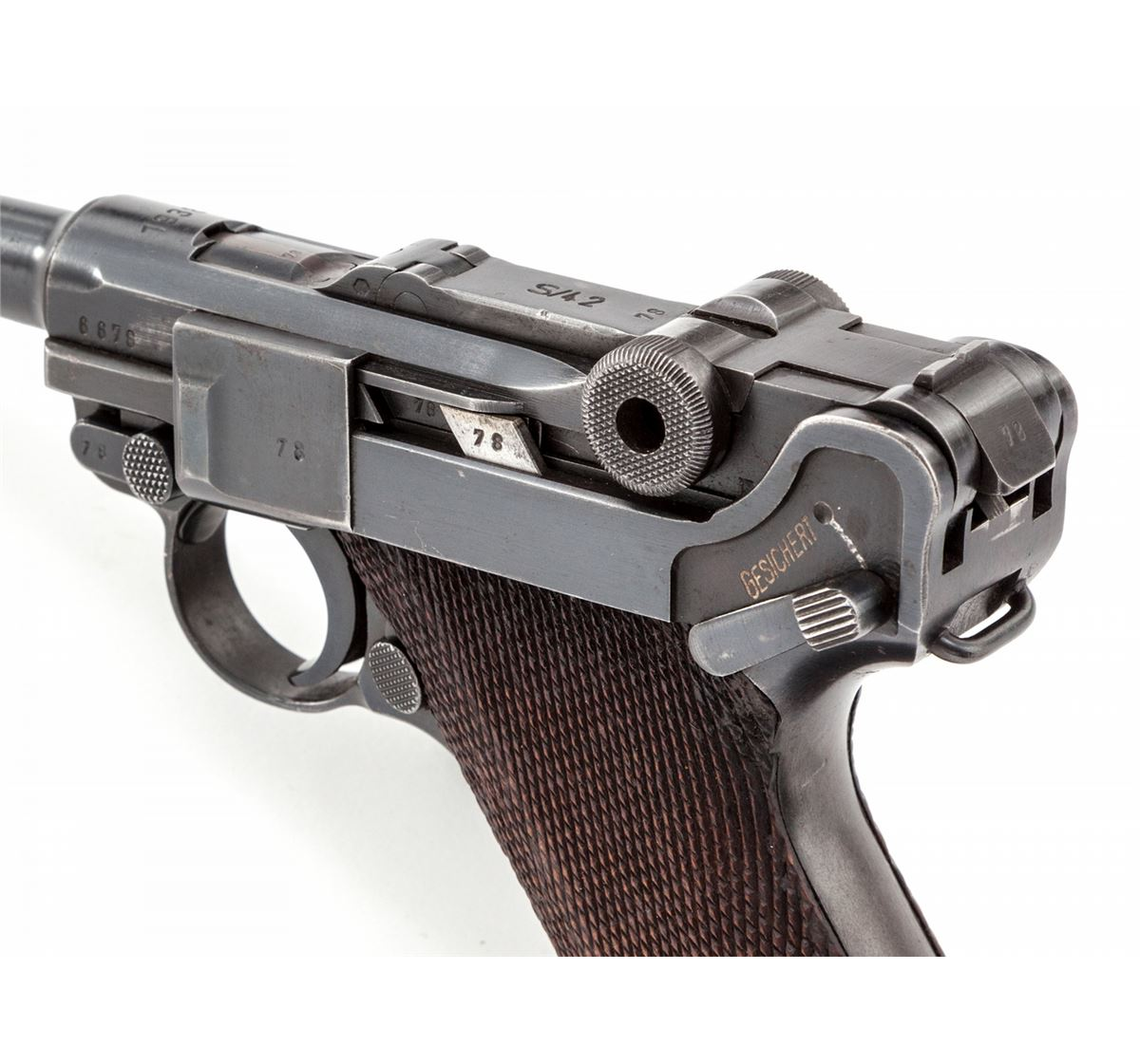 Mauser S/42 (1938) Luger