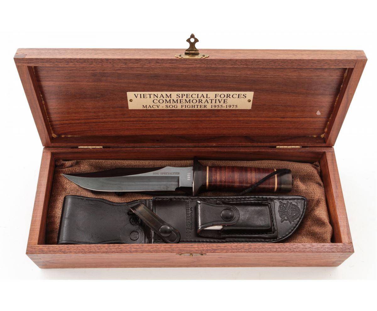 SOG Ltd  Ed  Vietnam Sp  Forces Knife