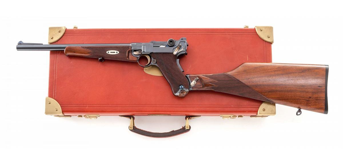 1920 Naval Luger Carbine