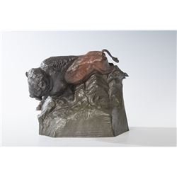 Ed Fraughton, patina bronze