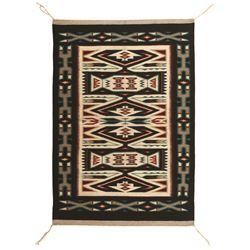 "Navajo Weaving, 4'7"" x 3'1"""