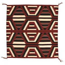 "Navajo Weaving, 3'7"" x 3'5"""