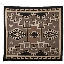 "Navajo Weaving, 7'2"" x 7'2"""