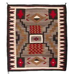 "Navajo Weaving, 4'9"" x 5'4"""