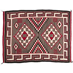 "Navajo Weaving, 3'8"" x 5'1"""
