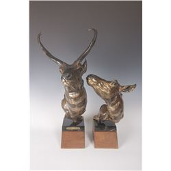 Jocelyn Lillpop Russell, two piece bronze