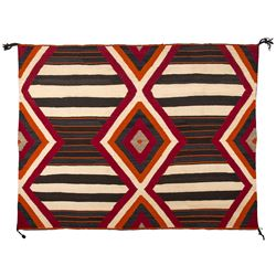 "Navajo Weaving, 4'1"" x 5'6"""
