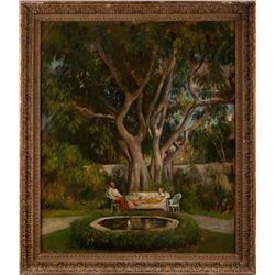 Robert Lewis Reid, oil on canvas