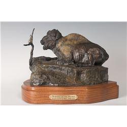Ralph Tuffy Berg, bronze