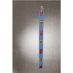"Crow Beaded Panel Belt, 33"" x 2 ¼"""