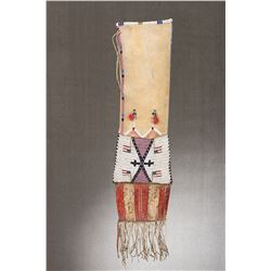 "Lakota Pipebag,  21"" long x 8"" wide"