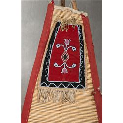 Blackfeet Teepee Backrest with Original Poles