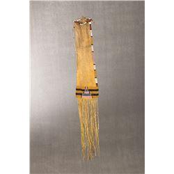 """Cheyenne Beaded Pipe Bag, 16"""" long"""