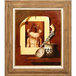 Chuck Sabatino, oil on canvas