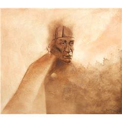 David Johns, acrylic on canvas
