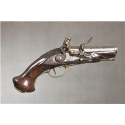 """European Pocket Flintlock Pistol, 7 ½""""overall length"""
