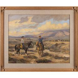 Bill Freeman, oil on canvas