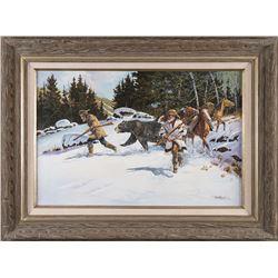 Paul Abram, Jr., oil on canvas