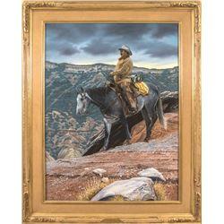 Duward Campbell, oil on canvas