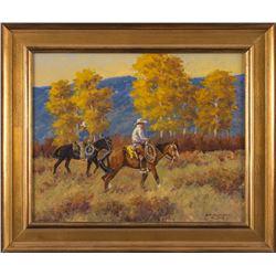 R. F. Morgan, oil on canvas