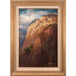 James Coleman, oil on canvas