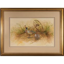 Janeen A. Schissler, watercolor and gouache