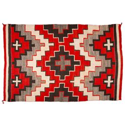 "Navajo Weaving, 4' 9 ½"" x 7' 4"""