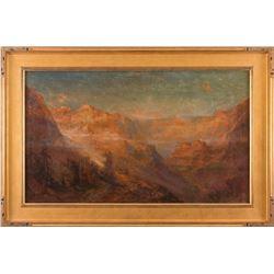 Lucien Powell, oil on canvas