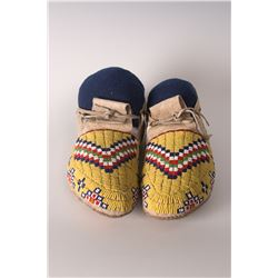 "Sioux Moccasins, 10"" long"
