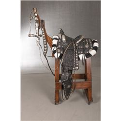Edward H. Bohlin Silver Mounted Saddle with Accessories